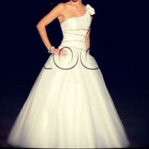 White Disney Ball Gown